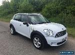 2013 (13) Mini Cooper Countryman....Spares or Repairs, Damaged Repairable, Cat N for Sale