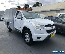 2013 Holden Colorado RG LX Cab Chassis Single Cab 2dr Spts Auto 6sp 2.8DT White for Sale