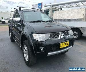 2014 Mitsubishi Triton MN GLX-R Utility Double Cab 4dr Auto 5sp 4x4 2.5DT Black for Sale
