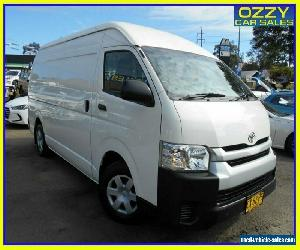 2015 Toyota HiAce TRH221R MY14 SLWB White Automatic 4sp A Van for Sale