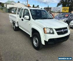 2008 Holden Colorado RC LX White Manual M Utility for Sale