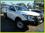 2017 Mazda BT-50 MY17 Update XT (4x4) White Automatic 6sp A Freestyle C/Chas for Sale