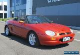 1998 MG F 1.8I Manual 5sp M Roadster for Sale