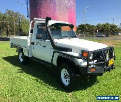 2005 Toyota Landcruiser HZJ79R (4x4) White Manual 5sp M Cab Chassis for Sale