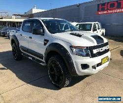 2015 Ford Ranger PX XL White Automatic A Utility for Sale