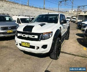2015 Ford Ranger PX XL White Automatic A Utility