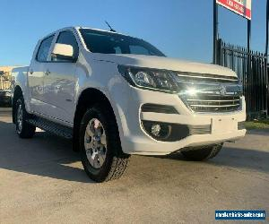 2017 Holden Colorado Summit White Automatic A Utility