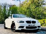 BMW M3 E93 4.0 V8 M DCT CONVERTIBLE FACELIFT LCI WHITE LOW MILEAGE  for Sale
