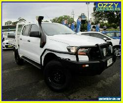 2017 Ford Ranger PX MkII MY17 XL 3.2 (4x4) White Automatic 6sp A Crew C/Chas for Sale