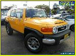 2012 Toyota FJ Cruiser GSJ15R Yellow Automatic 5sp A Wagon for Sale