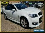 2015 Holden Commodore VF II SV6 White Automatic 6sp A Sedan for Sale