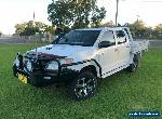 2008 Toyota Hilux KUN26R 08 Upgrade SR (4x4) Manual 5sp M Dual C/Chas for Sale