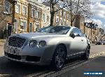 2004 BENTLEY CONTINENTAL GT 60 W12 COUPE SILVER PETROL AUTO ULEZ COMPLIANT for Sale