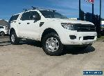 2015 Ford Ranger PX XL Cab Chassis Double Cab 4dr Man 6sp, 4x4 1262kg 3.2DT M for Sale