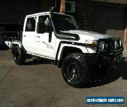 2014 Toyota Landcruiser VDJ79R MY12 Update GXL (4x4) White Manual 5sp M for Sale