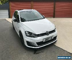 VW GOLF 2.0TDI MK7 GTD 2015 white - with extras ( 184ps ) ( BMT ) 2015MY - GTI R for Sale