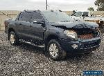 8/2012 FORD RANGER WILDTRAK PX 44KMS 4X4 3.2DT DAMAGED EXPORT STATUTORY PARTS for Sale
