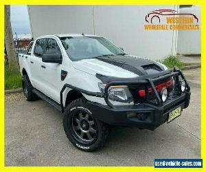 2014 Ford Ranger PX XL Cab Chassis Double Cab 4dr Spts Auto 6sp, 4x4 1244kg 3 A for Sale