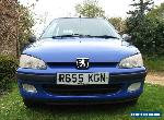 Peugeot 106 1.4 XR 3 door - Autocross - Track - Rallye project - 51.000 miles for Sale