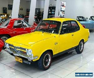 1970 Holden Torana LC GTR XU-1 Yellow Manual 4sp M Sedan for Sale