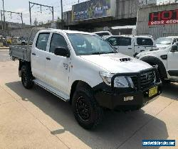 2011 Toyota Hilux KUN26R SR White Manual M Utility for Sale
