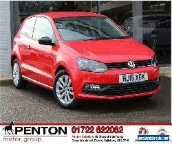 2015 Volkswagen Polo 1.0 BlueMotion Tech S (s/s) 3dr (a/c) for Sale