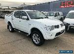 2014 Mitsubishi Triton MN GLX-R White Automatic A Utility for Sale