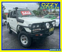 1994 Toyota Landcruiser (4x4) White Manual 5sp M Wagon for Sale