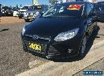 2012 Ford Focus LW Trend Black Automatic 6sp A Hatchback for Sale