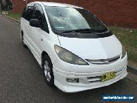 2001 Toyota Estima AERAS G White Automatic 4sp A Wagon for Sale