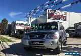 2004 Mitsubishi Pajero NP GLS 21ST Anniversary Silver Automatic 5sp A Wagon for Sale