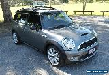 2009 Mini Cooper R55 S Clubman Chilli Dark Silver Automatic 6sp A Wagon for Sale