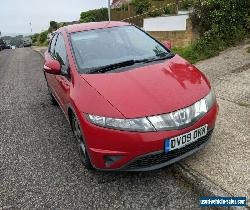 Hond Civic 2009 Red 13 months MOT to 31 July 2022 for Sale