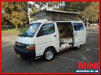 1991 Toyota Hiace Camper White Manual M Van for Sale