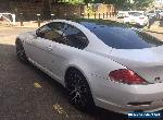 M6 styled 2005 BMW 630I Coupe AUTO with private plate for Sale