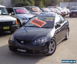 2003 Honda Integra Luxury Black Manual 5sp M Coupe for Sale