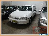 1999 Ford Falcon AU Futura White Automatic 4sp A Wagon for Sale
