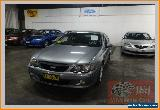 2003 Ford Falcon BA XR6 Grey Automatic 4sp A Sedan for Sale