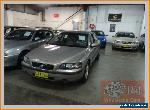 2001 Volvo S60 2.4T Gold Automatic 5sp A Sedan for Sale