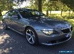 2008 BMW 635D SPORT AUTO GREY HPI CLEAR LOW MILEAGE  for Sale