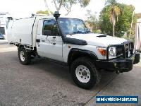 2011 Toyota Landcruiser VDJ79R 09 Upgrade GX (4x4) White Manual 5sp M for Sale