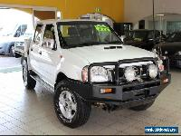 2009 Nissan Navara D22 MY2008 ST-R White Manual M DUAL CAB CHASS for Sale