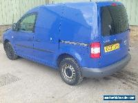2007 VOLKSWAGEN CADDY SDI BLUE DAMAGED SALVAGE SPARES OR REPAIR DRIVE HOME for Sale