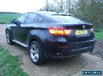 2011 BMW X6 Private Plate Included 3.0TD  Metallic Black Dark Glass X5  for Sale