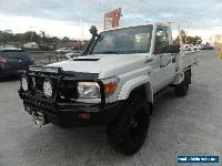 2012 Toyota Landcruiser VDJ79R MY10 Workmate Manual 5sp M Cab Chassis for Sale