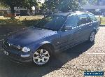 2001 (Y) BMW 320I 2.2 (PETROL) SE TOURING AUTOMATIC ESTATE BLUE for Sale