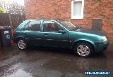 2002 FORD FIESTA 5 DOOR FREESTYLE GREEN - 1 LADY OWNER - FULL SERVICE HISTORY for Sale