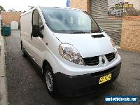 2008 Renault Trafic X83 MY07 White 6 Seq. Manual Auto-Single Clutch Van for Sale