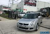 2008 Suzuki Swift EZ 07 Update Silver Manual 5sp M Hatchback for Sale