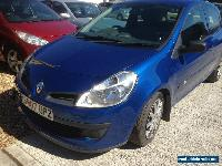 2007 RENAULT CLIO EXPRESSION 1.5 DCI 68 BLUE Spares Or Repair FULL HISTORY for Sale
